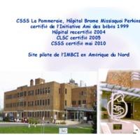 http://allaiterauquebec.org/bibliotheque_virtuelle/documents/CSSS_Brome-Missisquoi_site_pilote_IMBCI_2010.pdf