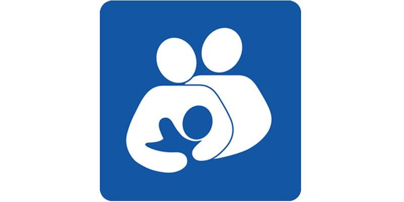 Pictogramme internationale de l'allaitement (couple)